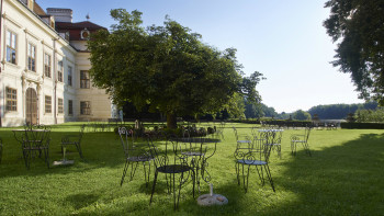 Garten von Schloss Ruegers © -, Schloss Ruegers