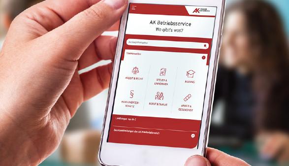 Hände halten Smartphone © -, AK Niederösterreich