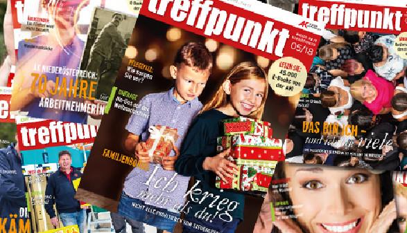 Cover treffpunkt © Scheichel, AK Niederösterreich